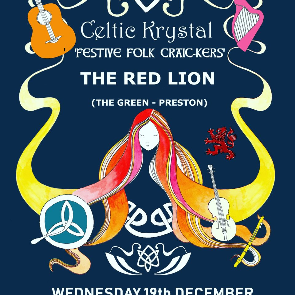 Live Folk Music from Celtic Krystal – Wed 19th / 8.30
