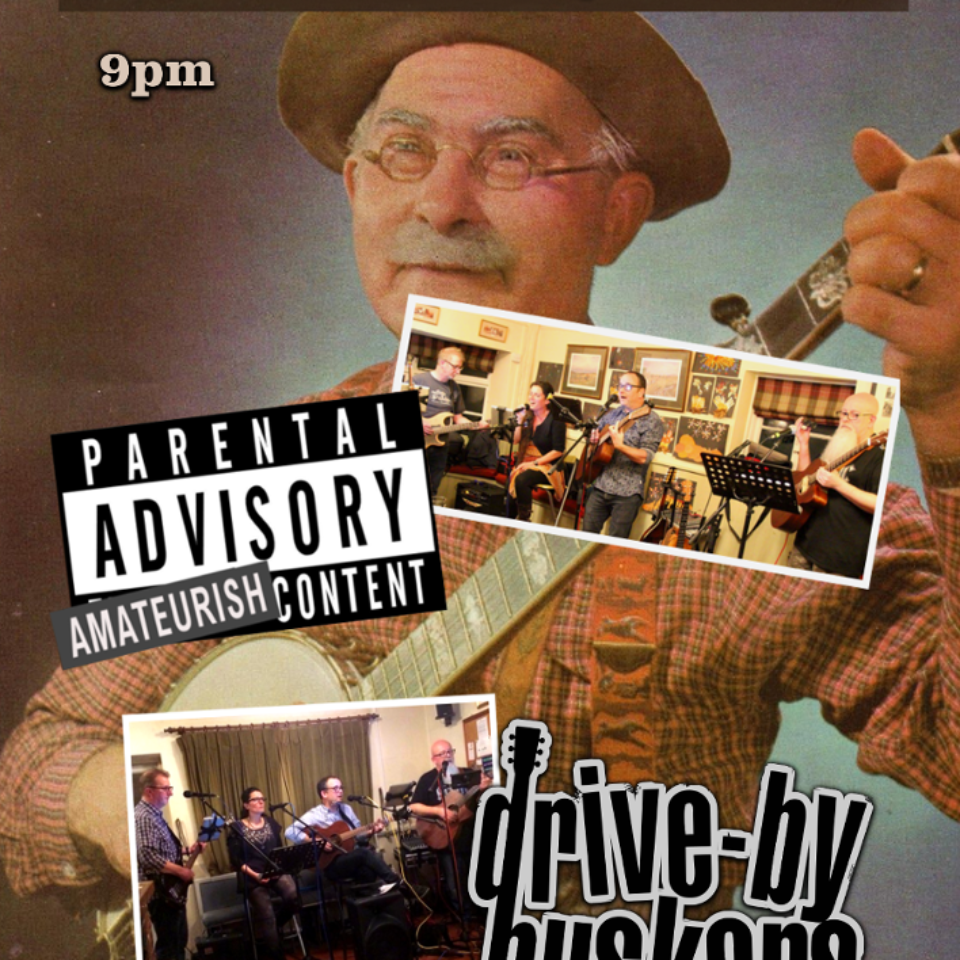 Live Music from The Drive-By Buskers – Feb 23rd 9pm
