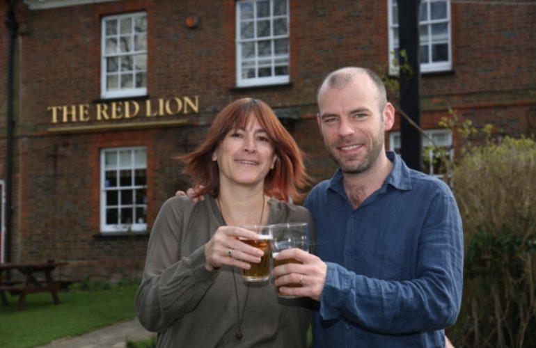 Preston's original community pub the Red Lion wins Camra North Herts title