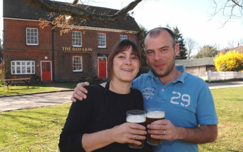 The Red Lion in Preston wins value pub of the year in the Good Pub Guide 2014 awards